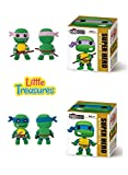 Turtle Ninjas Set of 2 Clay modeling and sculpting DIY play-set – create your favorite cartoon Hero characters with molding play-dough kit – a fun arts and craft kid's artist toy project