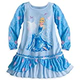 Disney Shop Cinderella Langarm Nachthemd Nachthemd Gr??e Small 5-6 5T