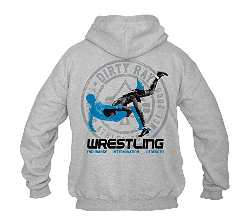 Dirty Ray Kampfsport Wrestling Herren Kapuzenpullover BDT14 (XL)