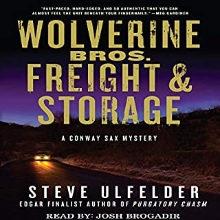 Wolverine Bros. Freight & Storage audiobook cover art