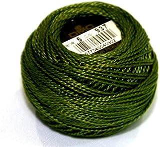 DMC Cotton Perle Thread Size 5 937 - per 10 gram ball