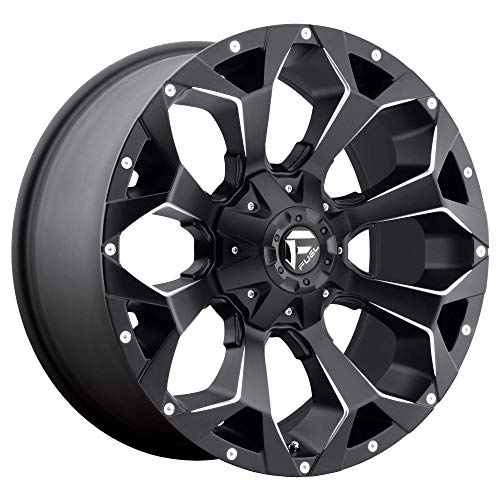 FUEL Assault NB -BLK MIL Wheel with Painted (17 x 9. inches /5 x 114 mm, -12 mm Offset)