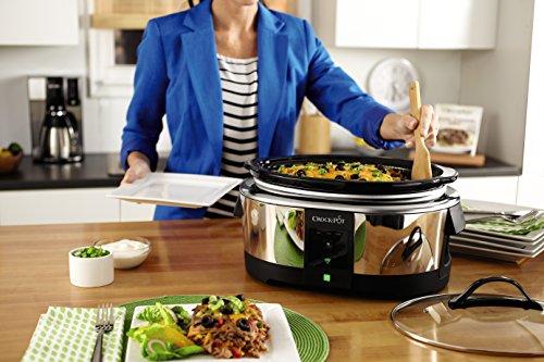 Product Image 3: Crock-Pot 6-Quart WeMo-Enabled Smart Slow Cooker, Stainless Steel