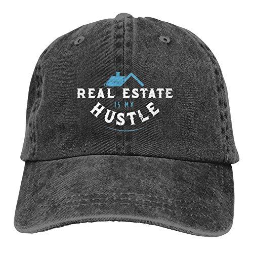 Jopath Real Estate Agents Real Estate is My Hustle Baseball Dad Gorra clásica ajustable para...