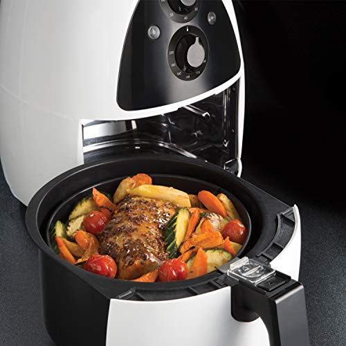 Russell Hobbs 20810 Purifry Air Fryer - Roast, Bake or Fry with No Oil Required, Two Litre Capacity, White