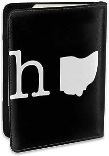 Portada del Pasaporte de Cuero de Home In Ohio State - Regalos de Viaje