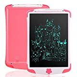 Arolun LCD Writing Tablet with Stylus,10 Inch Digital Ewriter Electronic Graphic Drawing Tablet Erasable Portable Doodle Mini Board Memo Notepad for kids Learning Birthday Gifts (Pink)