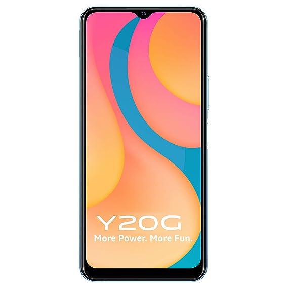 Vivo Y20G (Purist Blue, 4GB, 64GB Storage) with No Cost EMI/Additional Exchange Offers