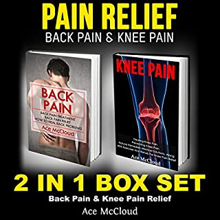 Pain Relief: Back Pain & Knee Pain cover art