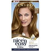 Clairol Nice'n Easy Crème, Natural Looking Oil Infused Permanent Hair Dye, 6.5G Lightest Golden Brown