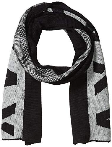 Armani Exchange AX Herren Two-color A|X Scarf Schal für kaltes Wetter, Marineblau/Bc06-Legierung, Einheitsgröße