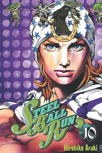 JoJo No Kimyou Na Bouken Part 7 Steel Ball Run Notebook: (110 Pages, Lined, 6 x 9)