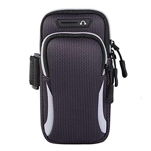 bolso deportivo Cubierta de caja de brazos de brazos a prueba de agua universal para brazaletes 6,5 Xiaomi Sport Running Bray Muñeca de la muñeca Amplia gama de aplicaciones duraderas ( Color : Grey )