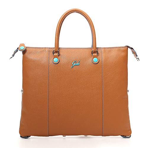 Gabs Damen Handtasche Transformable G3 Tg. M Ruga Leather (braun)