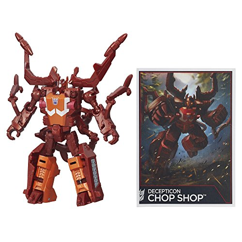 Transformers Generations Combiner Wars Legends Class Chop Shop Figure by Transformers