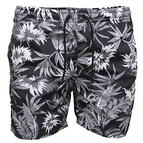 PAOLO PECORA 3973AA costume uomo short black beachwear man [XS]