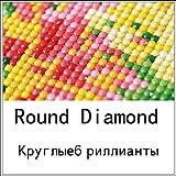 EUpMB 5d Diy diamante pintura Jesucristo punto de cruz nacimiento cristal diamante decoración del hogar diamante completo bordado 50x40 cm diamante redondo