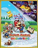 1art1 Super Mario Póster Mini con Marco (Plástico) - Paper Mario The Origami King (50 x 40cm)