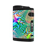 MightySkins Skin Compatible with Eleaf iStick Pico Dual – Psychedelic | Protective, Durable, and Unique Vinyl Decal wrap Cover | Easy to Apply, Remove, and Change Styles | Made in The USA