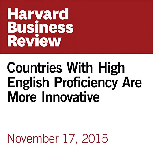 Countries With High English Proficiency Are More Innovative  copertina