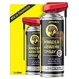 Atripol 2 x 400ml Marderspray   Für Auto, Dachboden & Haus I Anti-Marder-Spray zur tierfreundlichen...