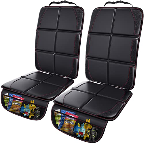 Gimars 2 Pack XL 5-Layer Thickest EPE Padding Car Seat Protector for Child Car Seat, Waterproof seat...