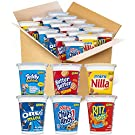 OREO Mini Cookies, CHIPS AHOY! Mini Cookies, RITZ Bits Crackers, Teddy Grahams Honey, Nutter Butter Bites & Mini Nilla Wafers Go-Cup Variety Pack, Halloween Snacks, 14 Go-Cups