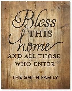 family name door plaque