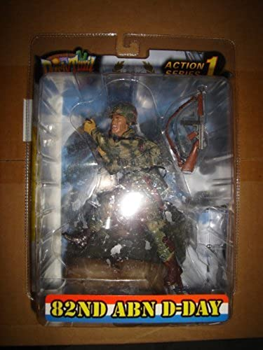 Dusty Trail Toys Series 1 WWII 82nd Airborne D-Day Action Figure by Dusty Trail