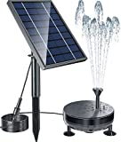 Best Solar Pumps - Pendoo Solar Fountain Pump, 8W Solar Powered Water Review
