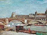 1art1 Vincent Van Gogh - Pont Du Carrousel Mit Louvre, 1886