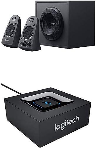 Logitech Z625 2.1 Stereo-Lautsprecher THX (mit Subwoofer) + Bluetooth Audio Adapter