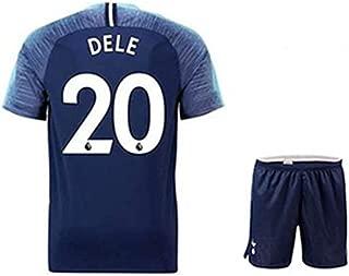 ZXAOYUAN DELE Alli #20 Men's Away Soccer Jersey & Short Kit Blue
