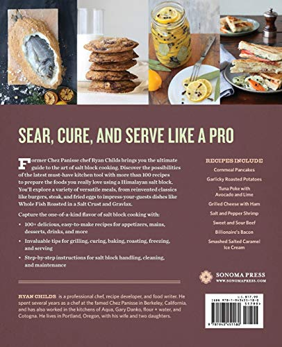 51YRtKT7IPL - The Complete Book of Salt Block Cooking: Cook Everything You Love with a Himalayan Salt Block
