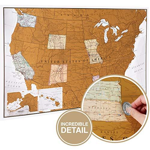 Maps International Scratch Off Map …