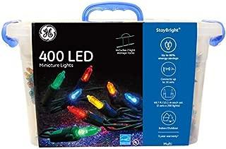 GE StayBright LED Miniature Lights, 400ct, Multicolored