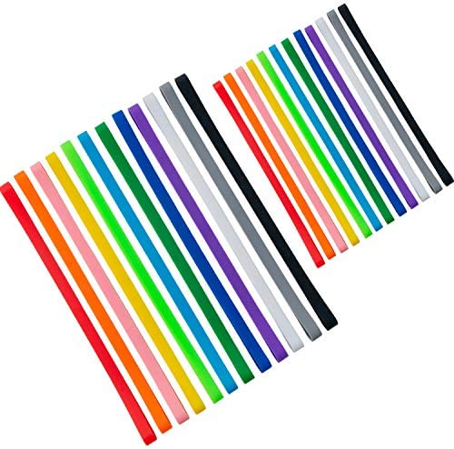 24 PCS Silicone Rubber Bands Planner Elastic Bands Elastic Rubber Wrapping Bands for Books Crab product image