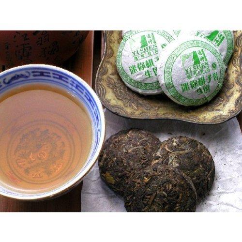 【プーアル茶】逸神生餅(小餅茶)100g【生茶】