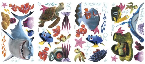 RoomMates Finding Nemo Peel and Stick Wall Decals