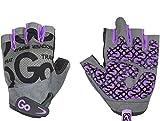 GoFit Women's Go Grip Glove - Purple/Grey - Small