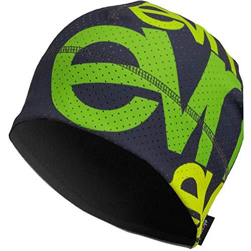 Eleven Sportmütze für Laufen, Radfahren, Wandern, aktiver Lebensstil und Skifahren | Laufmützen für Damen, Herren und Kinder | Funktionelle Mütze mit Belüftung Air (Team EVN Grey, L (58-61cm))