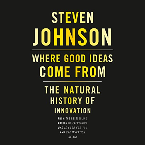 Where Good Ideas Come From audiobook cover art