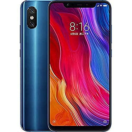 Xiaomi Mi 8 Smartphone Dual Sim da 128 GB, Blu [Italia]