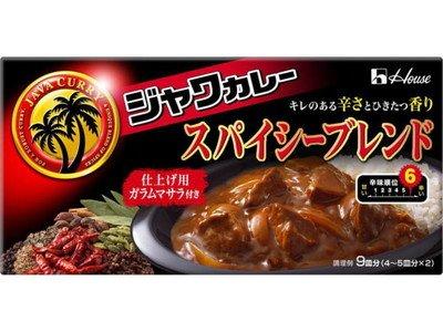 ハウス食品 ジャワカレースパイシーブレンド 207g ×60個