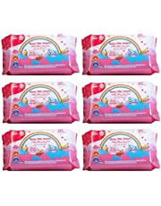 Farlin Baby Wet Wipes (Pack of 6, Total 510 Pieces)