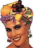 Tropical Carmen Miranda Latin Lady Fruit Headpiece Hat Costume Accessory