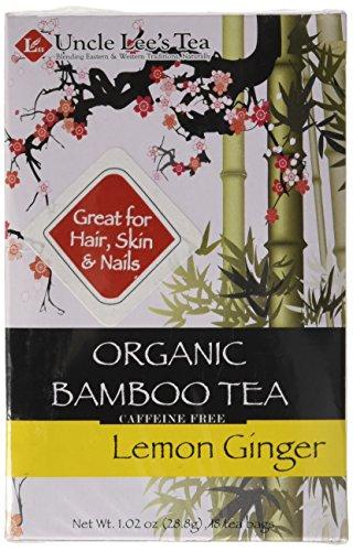 Uncle Lees Tea Organic Tea, Bamboo Lemon Ginger, 18 Count