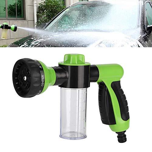 Pulverizador de espuma con botella de 100 cc, 8 patrones de pulverización, pistola de agua de espuma para coche, limpieza de alta presión para el hogar, riego de plantas de lavado de coches