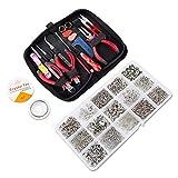 Jewellery Making Kit,1275 pcs Jewellery Finding Set, Jewelry Findings Starter Kit, Jewelry Beading