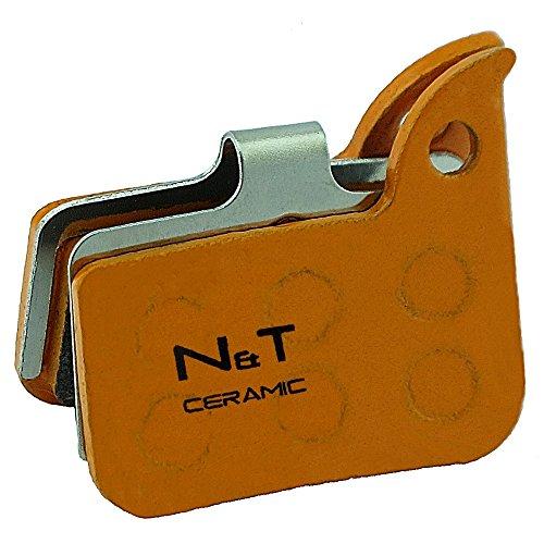 Noah And Theo NT-BP016/CR - Pastillas de freno de disco de cerámica...